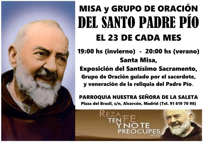 2015 - Misa y Grupo de Oración Padre Pio