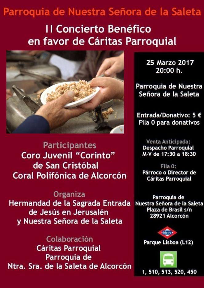 2017 03 25 - Concierto para Cáritas