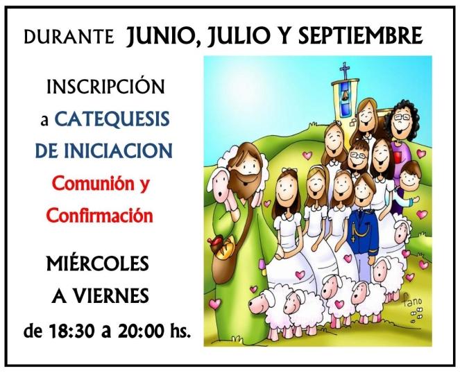 2017 - Inscripción Catequesis
