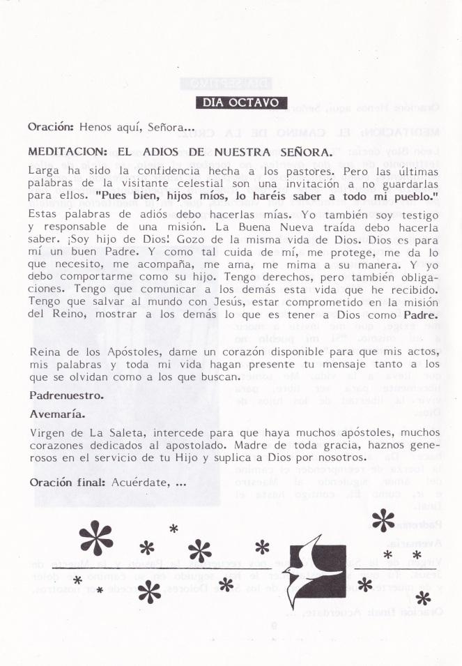 08 - Novena Virgen Saleta