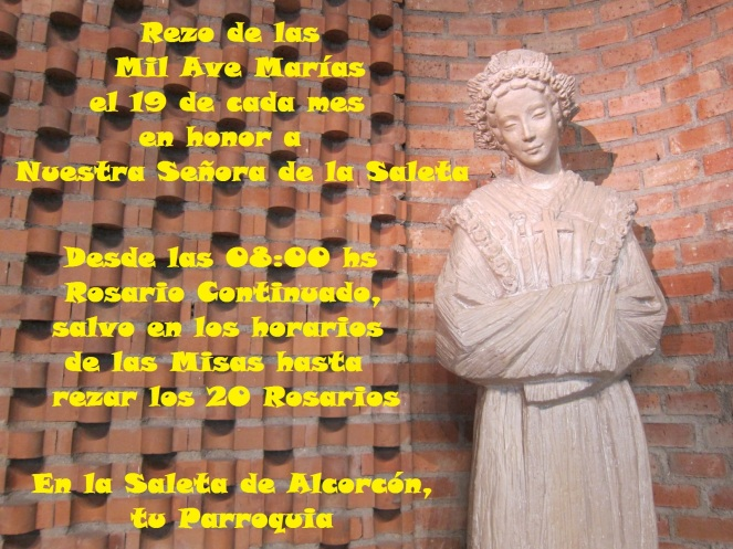 2017 - Mil Ave Marías a Ntra Sra de la Saleta