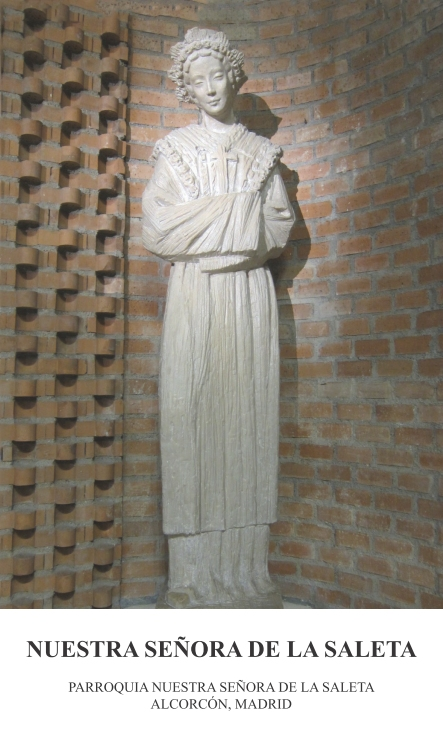 Estampa Nuestra Señora de la Saleta-a