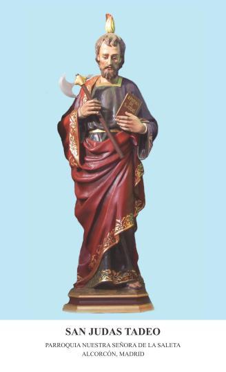 Estampa San Judas Tadeo Saleta - Anverso