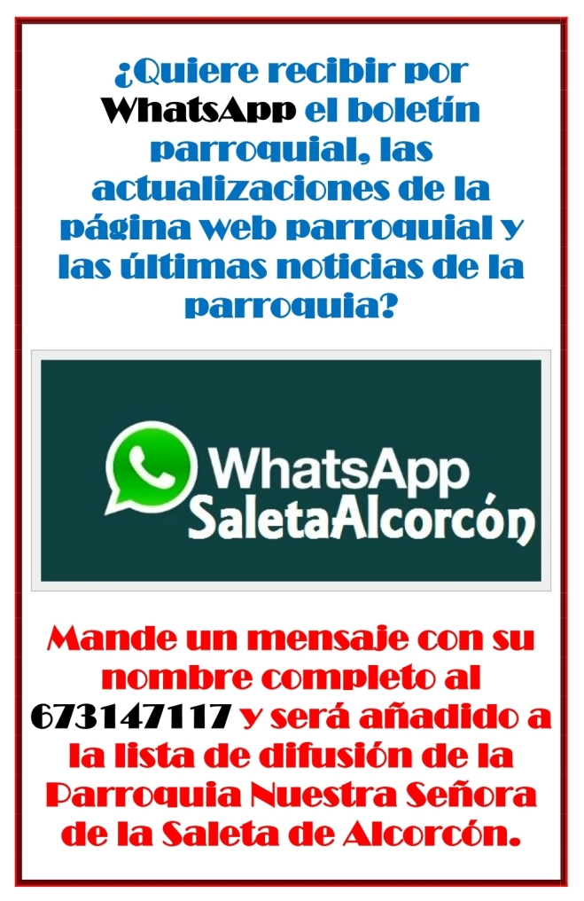 WhatsApp Saleta Alcorcón