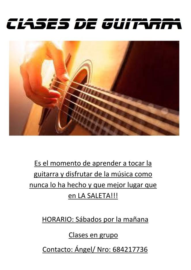 2017 - Clases de Guitarra