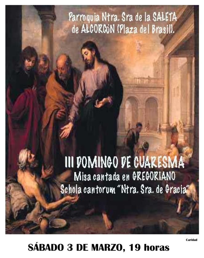 2018 - Cartel Misa Gregoriana Cuaresmal