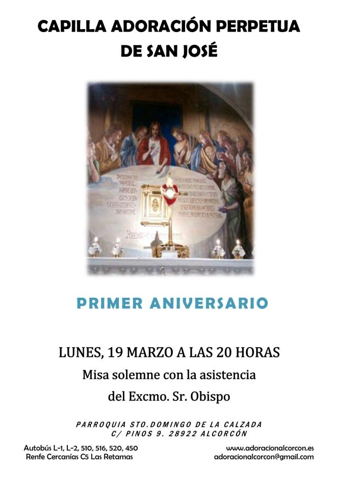2018 - Aniversario Capilla Adoración