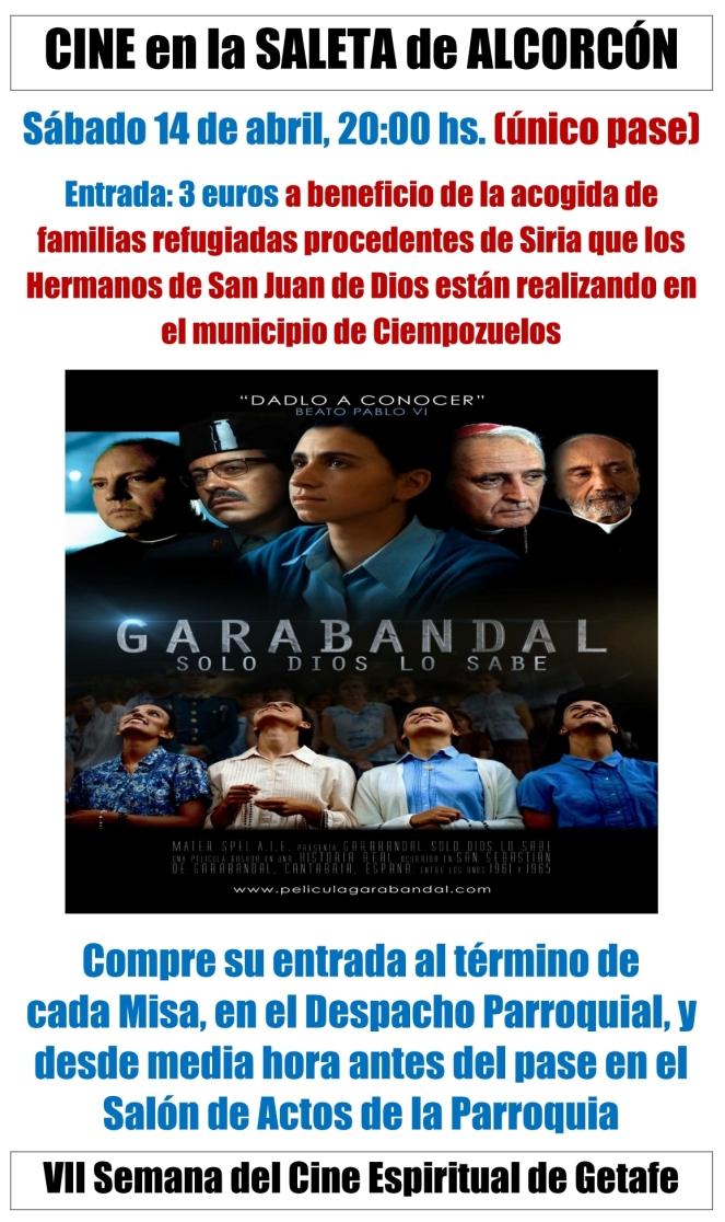 2018 04 - Garabandal - cartel