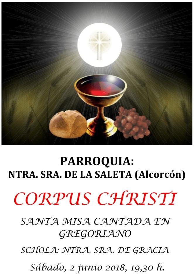 2018- Cartel Corpus Saleta