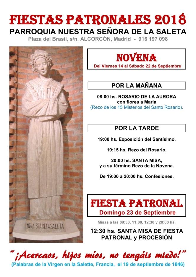 2018 - Fiestas Patronales Saleta