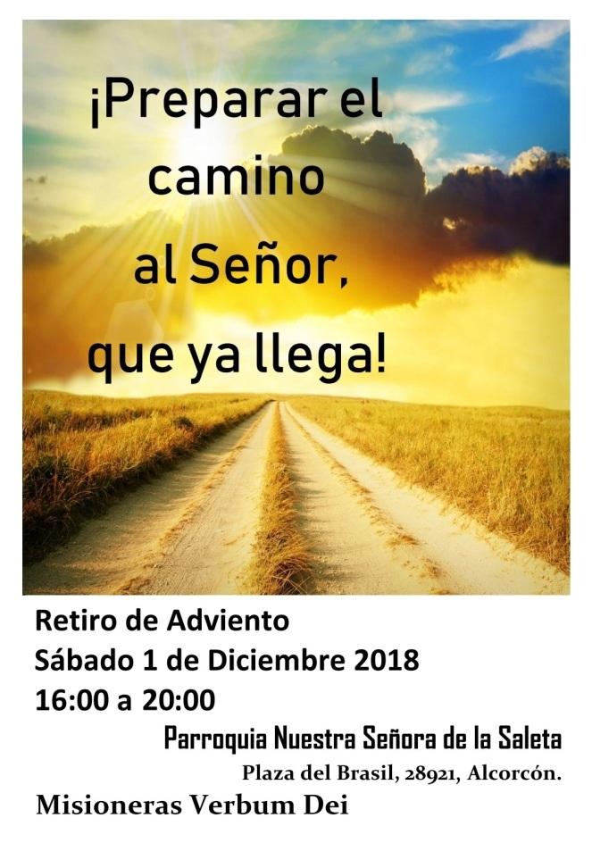 2018 - Retiro de Adviento