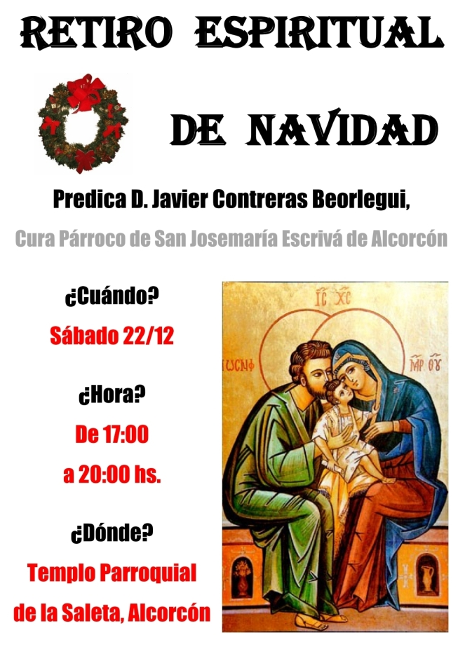 2018 - Retiro Espiritual de Navidad