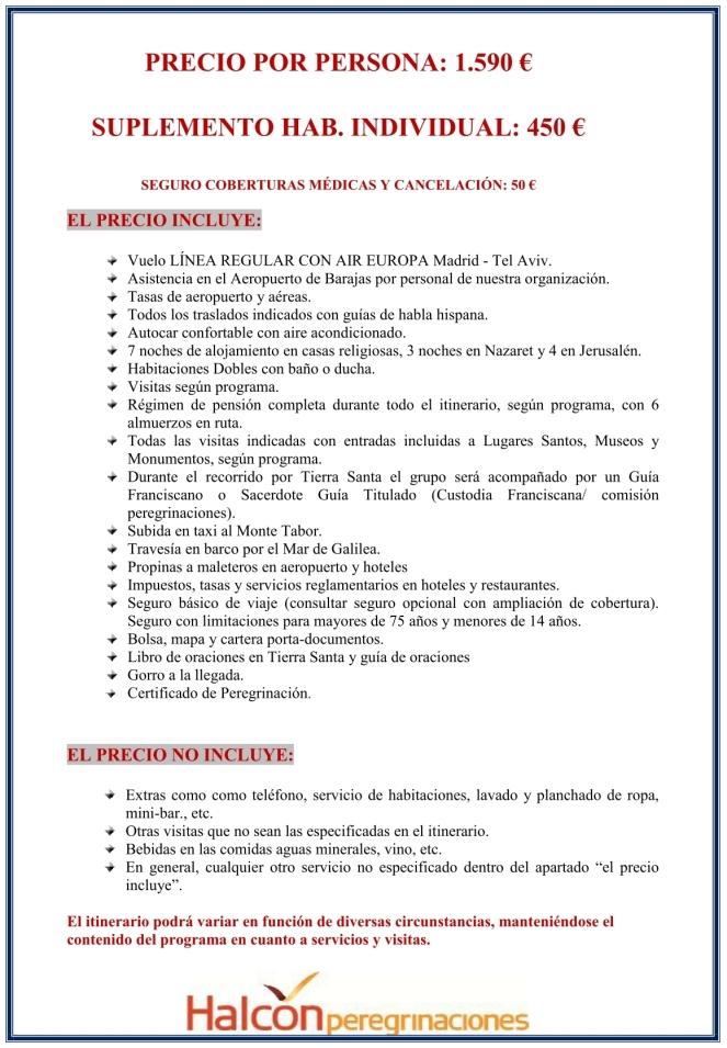 2019 - Peregrinación a Tierra Santa-5