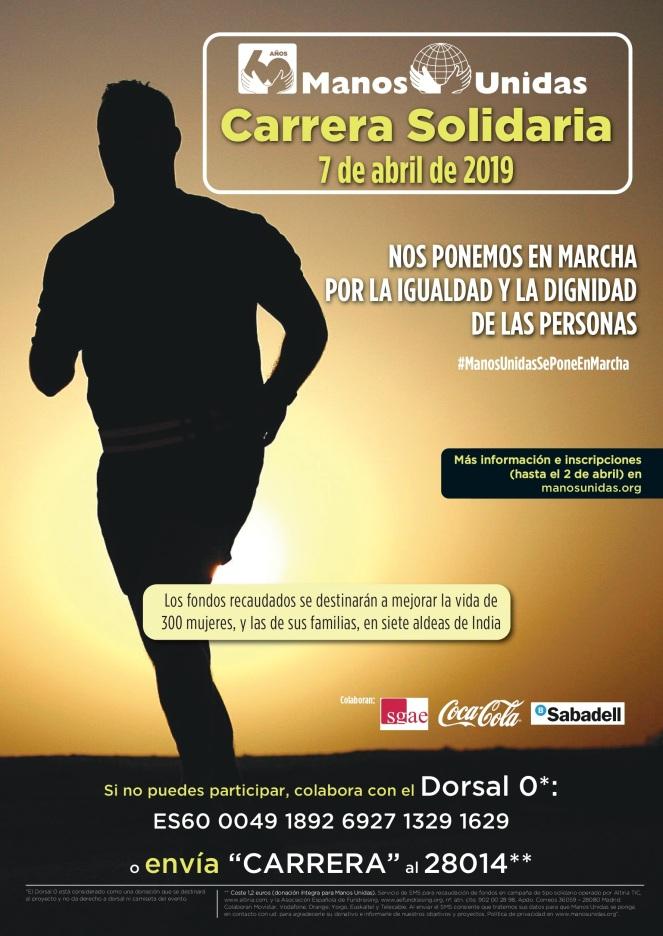 2019 04 - Maratón Manos Unidas