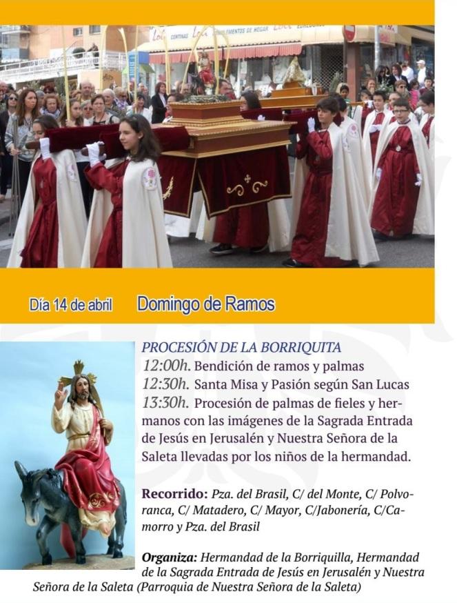 2019 04 - Procesión de la Borriquita