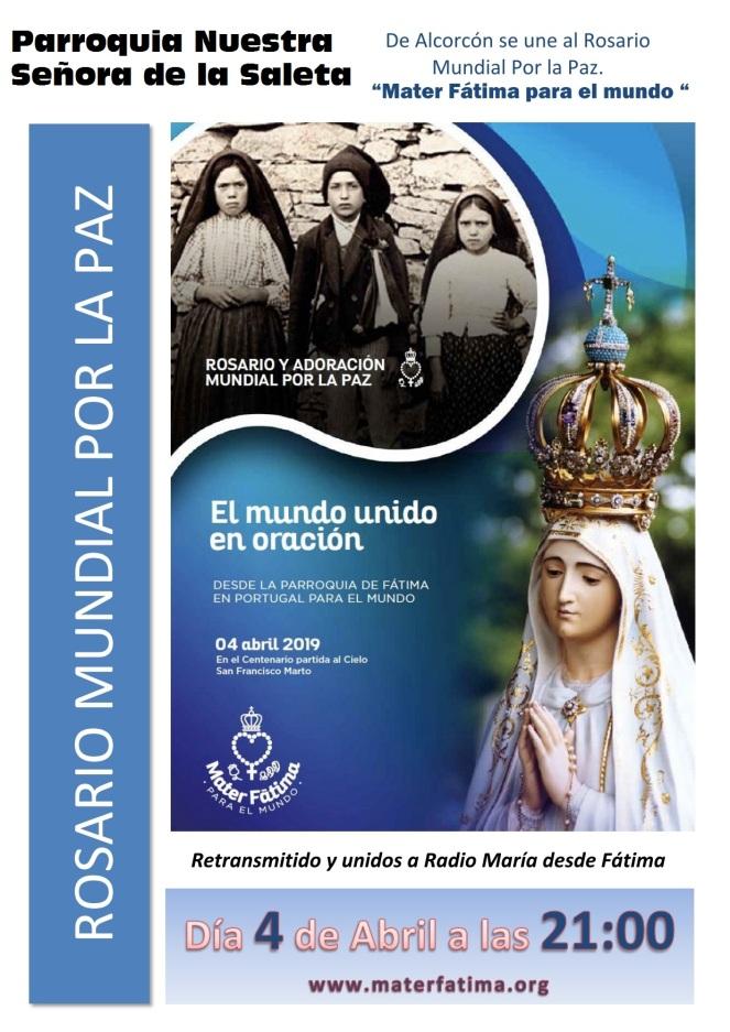 2019 - Rosario por la oaz