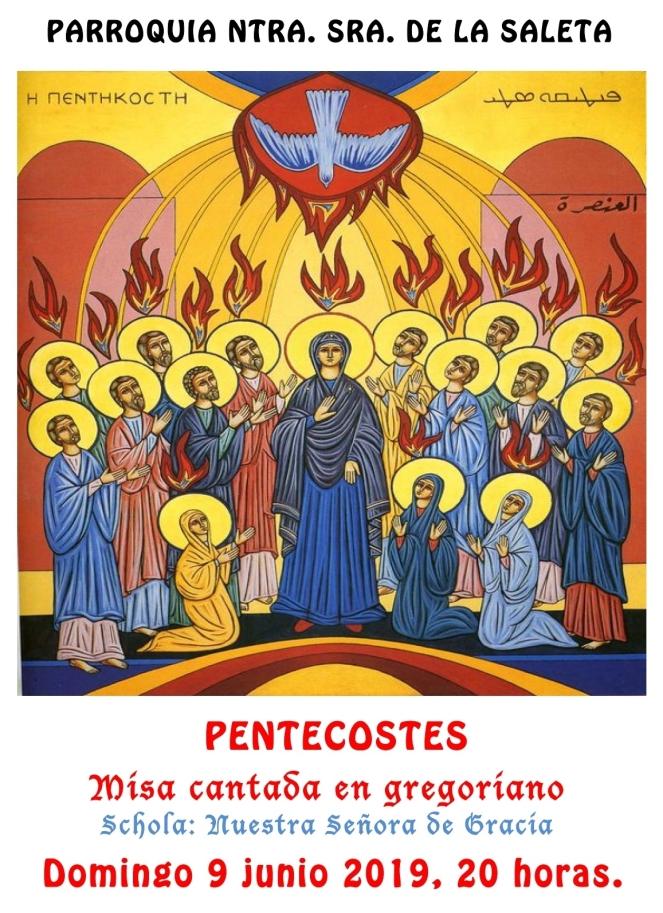 2019 06 - Misa Gregoriana Pentecostés